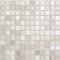 Travertino Silver POL 15x15. Мозаика (30,5x30,5)