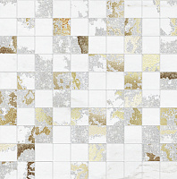 MQSW Mosaico Q Solitaire White Mix. Мозаика (30x30)