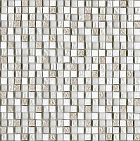 Imperia Mix SILVER White. Мозаика (29,8x29,8)