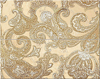 Sfumato Beige Decor Set Paisley 1. Панно (50,5x40,2)