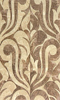 Saloni brown 01. Декор (30x50)