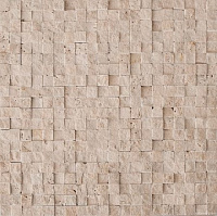 CV20145 Mos.Turkish Travertine Split 1.5x1.5. Мозаика (30,5x30,5)
