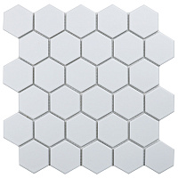 Hexagon small White Matt IDL1005. Мозаика (27,8x26,5)