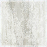 Decor Solitaire Rosone Pav Gold- Grey Lapp Rett. Декор (60x60)