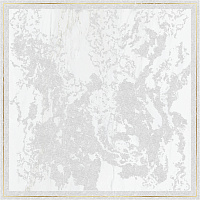 Decor Solitaire Rosone Pav Gold- White Lapp Rett. Декор (60x60)