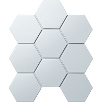 Hexagon big White Matt SBH1005. Мозаика (25,6x29,5)