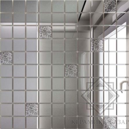 Зеркальная плитка Зеркальная мозаика Мозаика зеркальная Серебро + ... bfada4f11e5d1